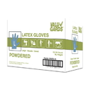 Handgards Valugards Latex Powdered Large Glove 100 Per Pack - 10 Per Case