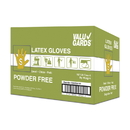 Hgi Latex Valugard Powder Free Small Glove 100 Per Pack - 10 Packs Per Case