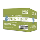 Hgi Valugards Large Powder Free Latex Glove 100 Gloves 10 Per Case