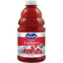 Ocean Spray Original Cranberry Juice 46 Fluid Ounce Bottles - 8 Per Case