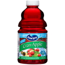 Ocean Spray Cranberry Apple Juice 46 Fluid Ounce Bottles - 8 Per Case