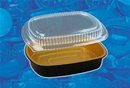 Handi-Foil 4201-55-100WDL Gourmet To Go Small Entree W/ Dome Lid