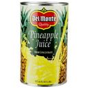 Del Monte Pineapple Juice 46 Ounces - 12 Per Case