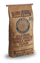 Gold Medal Stone Ground Unbleached Fine Ground Whole Wheat Flour 50 Pounds Per Pack - 1 Per Case