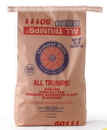Gold Medal All Trumps Bakers High Gluten Enriched Bromated Bleached Flour 50 Pounds Per Pack - 1 Per Case