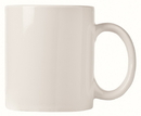 World Tableware 12 Ounce C Handle White Mug 12 Per Pack - 1 Per Case