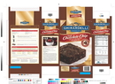 Ghirardelli Kosher Triple Chocolate Brownie Mix 120 Ounce Box - 4 Per Case