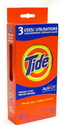 Tide 84800 Tide Single Load 3 Pack 1-24 Count