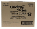 Chicken Of The Sea 10048000003185 Chicken Of The Sea Chunk Light Tuna In Water Cup 8/2 Packs Of 2.8 Ounce