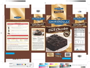 Ghirardelli Brownie Double Dark Chocolate Brownie Mix 7 Pound Box - 4 Per Case