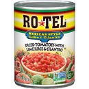 Rotel Mexican Lime And Cilantro Diced Tomatoes
