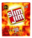 Slim Jim 2620061509 Slim Jim Original Gravity Feed Display; Display With 4 Packs