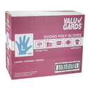 Valugards Poly Large Glove 200 Per Box - 4 Boxes Per Case