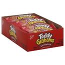 Teddy Grahams Cinnamon Graham Snack Cookies 1 Ounces Per Pack - 12 Per Box - 4 Per Case