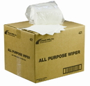 Atlantic Mills 12 Inch X 13 Inch White All Purpose Wipe 800 Per Pack - 1 Per Case