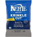 Kettle Krinkle Potato Chip Salt & Pepper 2Oz