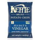 Kettle Foods Salt & Vinegar Potato Chips 2 Ounces - 6 Per Case