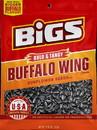 Bigs Buffalo Wing Sunflower Seeds 5.35 Ounce Bag - 12 Per Case