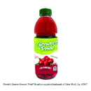 Fl Nat Growers' Pride From Concentrate Shelf Stable Cranberry Juice Cocktail