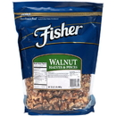 Fisher Walnut Halves And Pieces 32 Ounce - 3 Per Case
