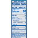 Capri Sun 100% Juice Ready To Drink Berry Juice 6 Fluid Ounce - 40 Per Case