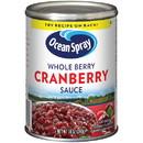 Ocean Spray Whole Berry Cranberry Sauce 14 Ounces - 24 Per Case