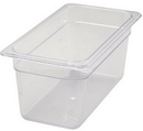 Winco Third Size 6 Inch Poly Food Pan 1 Per Pack