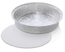 Handi-Foil 9 Round Pan With Lid 200 Count - 1 Per Case