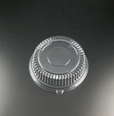 Party Tray EMI-320LP 12 Inch Round Lid Clear 25-25 Each