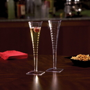 Squares EMI-SFC5 5 Ounce 1 Piece Square Champagne Glass 1-72 Each
