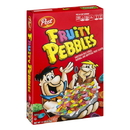 Post Fruity Pebbles Sweetened Rice Cereal Box 15 Ounces - 12 Per Case