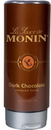 Monin Dark Chocolate Sauce 12 Fluid Ounce Bottle - 6 Per Case