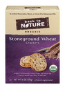 Back To Nature Organic Stoneground Wheat Crackers 6 Ounce Box - 6 Per Case