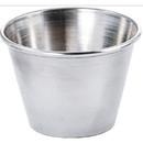 Winco 2.5 Ounce Light Sauce Cup 1 Dozen Per Pack - 1 Per Case