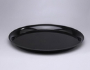 Checkmate 16 Round Tray Black 25Ct