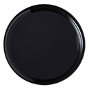 Checkmate 18 Round Tray Black 25Ct