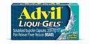 Advil 016989 Liquid Gel 160's 4-3-160 Count
