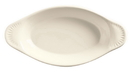 Bedrock Ovenware 8.625 8 Ounce Cream White Oval Welsh Rarebit 24 Per Pack - 1 Per Case