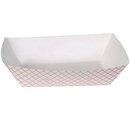Dixie 5 Pound Red Plaid Food Tray 250 Per Pack -2 Per Case