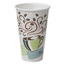 Perfect Touch 5356CD Perfectouch 16 oz. Insulated Paper Hot Cup 1000 Count Coffee Dreams