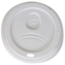 Dixie D9550 Dixie Lid Fits 20 oz. And 24 oz. Paper Hot Cups 1000 Count White