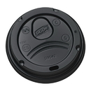Dixie D9542B Dixie Lid - Dome Fits Perfectouch 12-16 oz. Paper Hot Cups 1000 Count Black