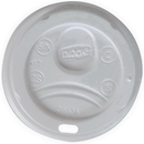 Dixie D9538 Dixie Lid Fits 8 oz. Paper Hot Cups 1000 Count White