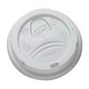 Dixie D9542 Dixie Lid Fits Perfectouch 10-20 oz. Paper Hot Cups 1000 Count White