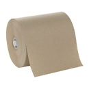 Hardwound Brown Roll Towels On 8.25 Non-Slot Rolls 6 Rolls Of 700 Linear Feet