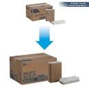Pacific Blue Basic C-Fold White Paper Towel- 2400 Per Case