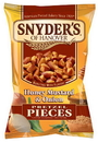 Snyder'S Of Hanover Honey Mustard & Onion Pretzel Pieces 8 Ounce Bag - 6 Per Case