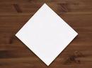 Linen-Like 17 Inch X 17 Inch White Dinner Napkin 75 Per Pac - 4 Per Case