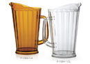 G.E.T. Enterprises 60 Ounce Clear Pitcher 1 Dozen Per Pack - 1 Per Case