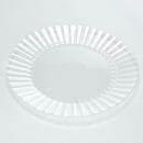 Plate Resposable 10 Inch Clear 1-144 Each